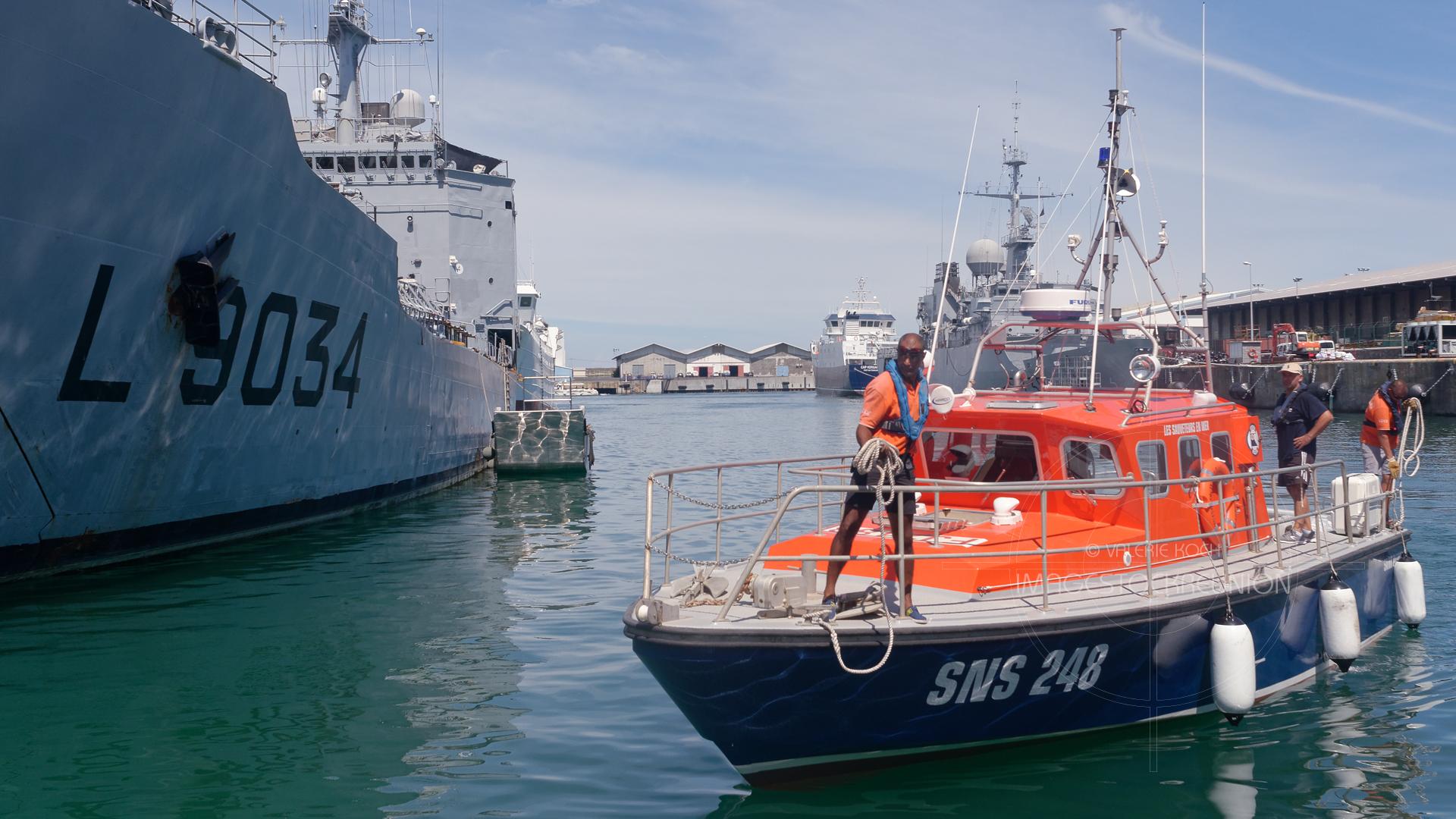 La Base Navale accueille la SNS 248 © Valérie Koch - Tous droits réservés