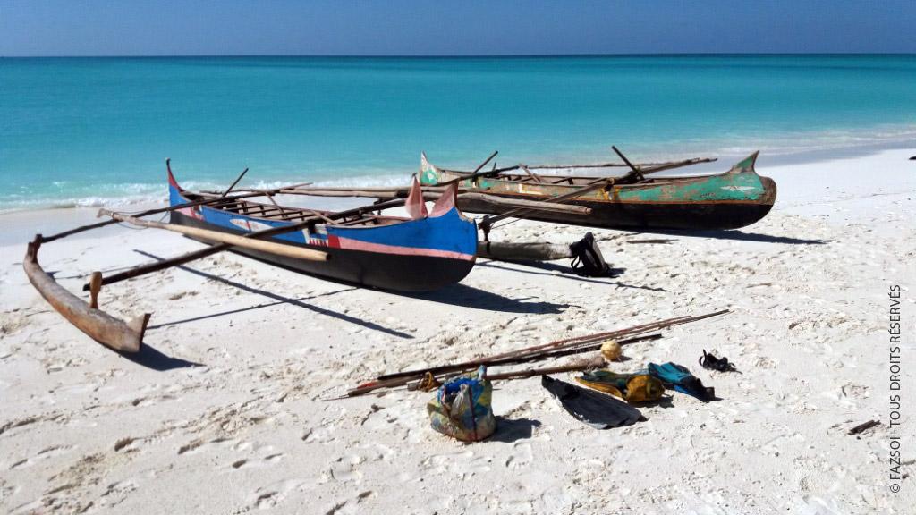 Pirogue et matériel de pêche saisis © FAZSOI - Tous droits réservés