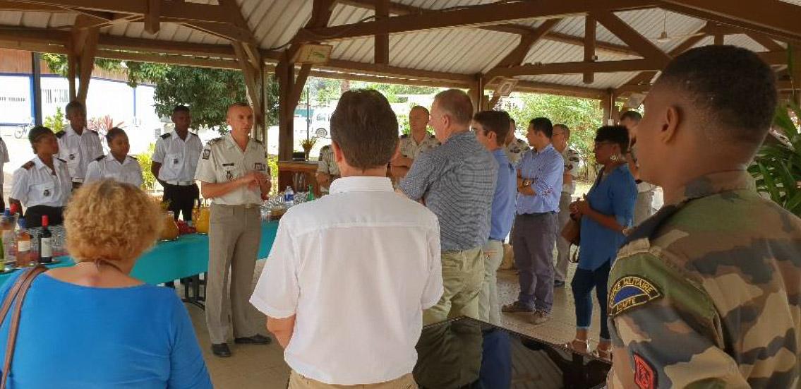 Séminaire du BTP au RSMA Mayotte © RSMA Mayotte