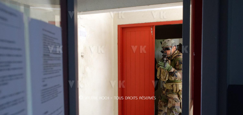 CMC avec les commandos de la SCAE © Valérie Koch - Tous droits réservés