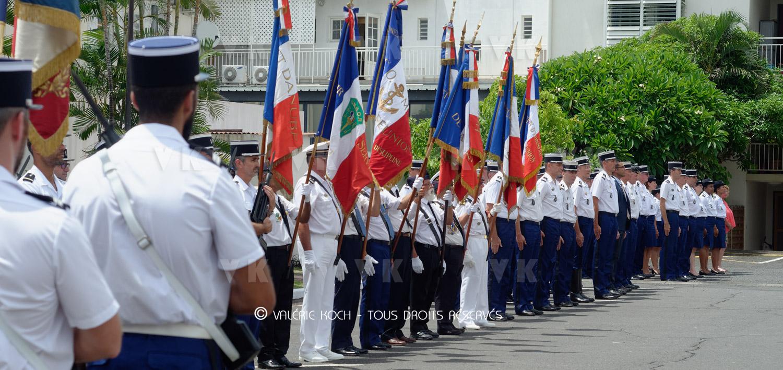 Hommage aux 14 gendarmes décédés en 2018 © Valérie Koch - Tous droits réservés