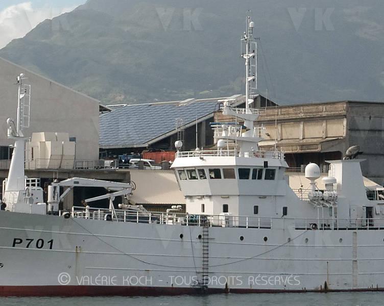 P701 Le Malin engagé sur Cutlass Express © Valérie Koch - Tous droits réservés