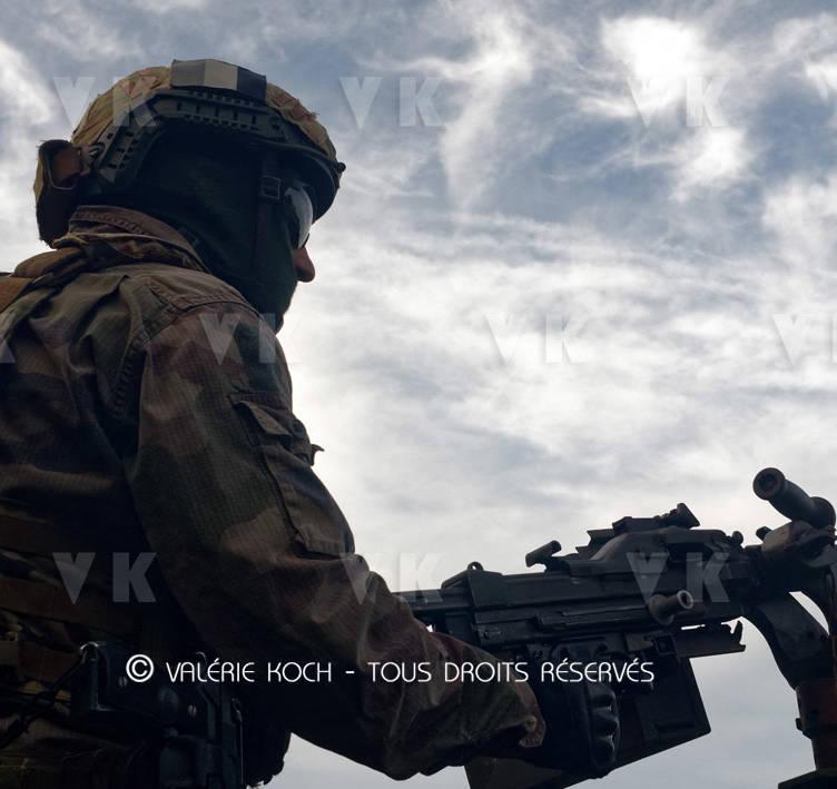 Aperçu du métier de militaire avec la 1ère CIE © Valérie Koch - Tous droits réservés