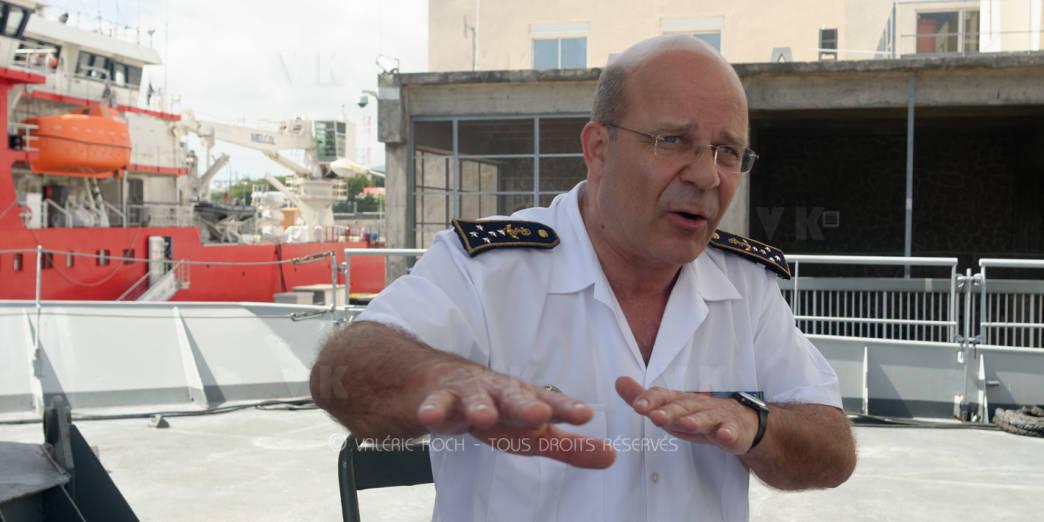 Amiral Prazuck : La base, c'est le renseignement © Valérie Koch - Tous droits réservés