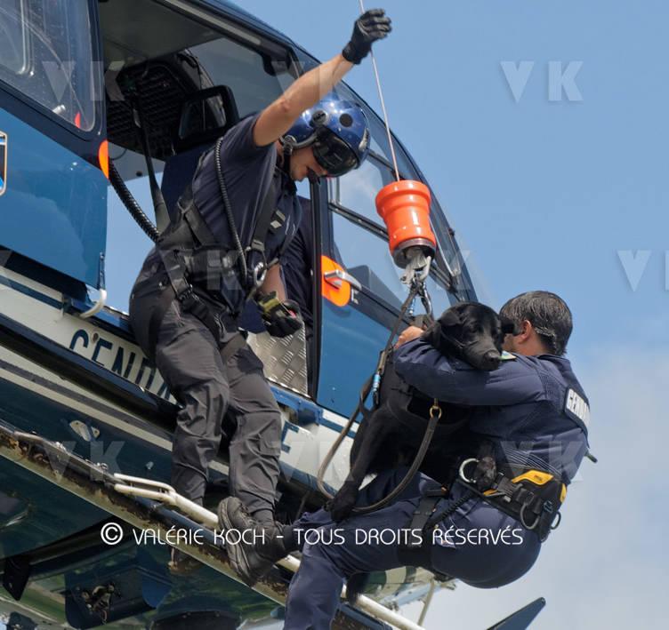 La gendarmerie malgache en mission au COMGENDRE (III) © Valérie Koch - Tous droits réservés