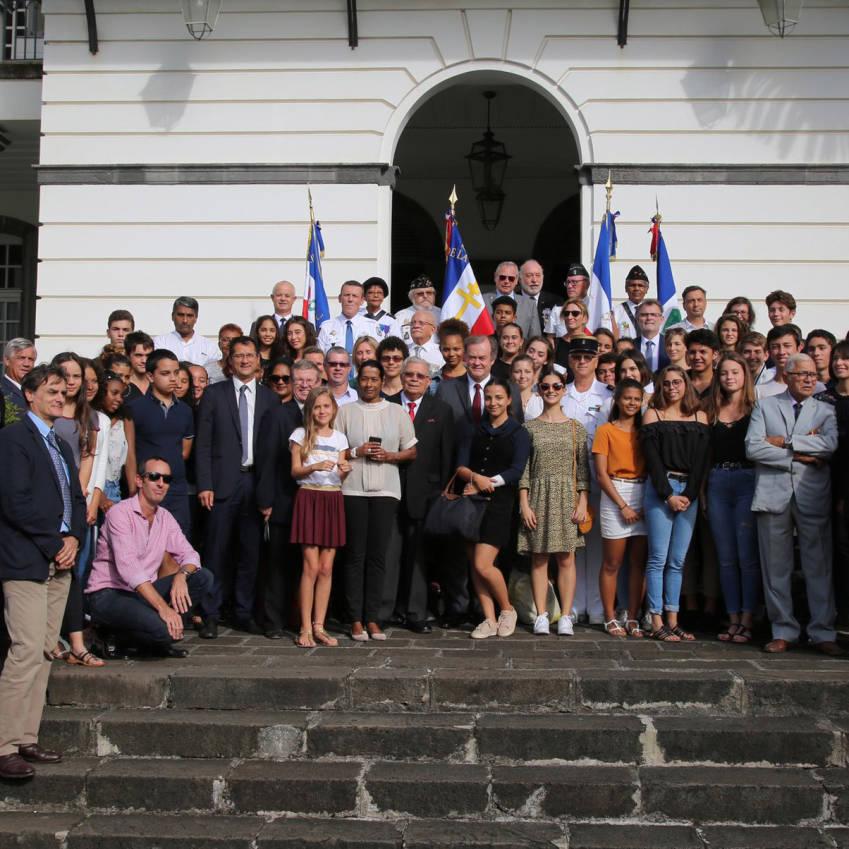 Les lauréats du CNRD 2018-2019 à La Réunion © Préfecture de La Réunion