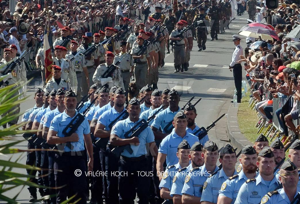 Fête nationale à Saint-Pierre et à Saint-Denis © Valérie Koch - Tous droits réservés