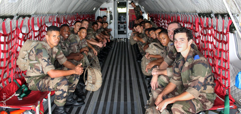 Formation militaire Air 2019 © DA 181