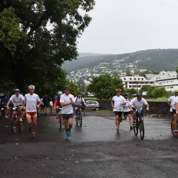 Run and Bike pour le DA 181 © DA 181