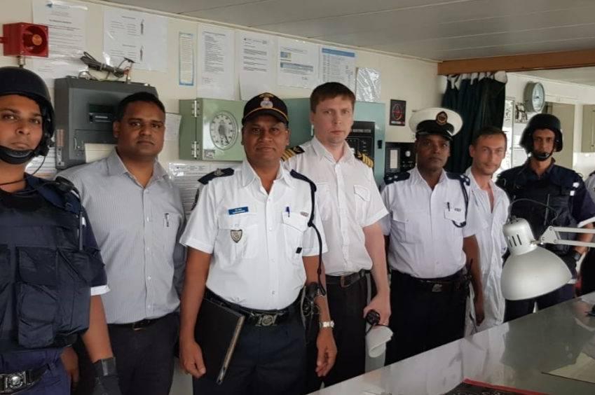 CRIMARIO : exercice de gestion de crise © patrouilleur CGS Valiant / CRIMARIO