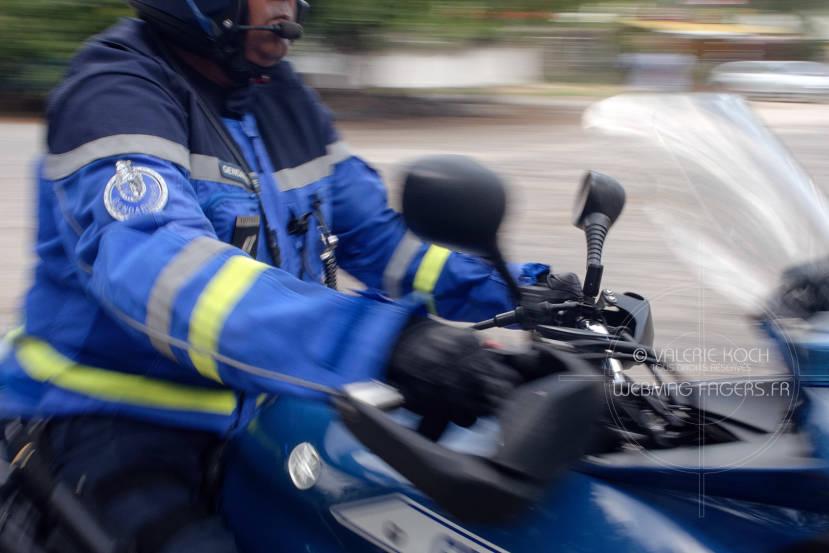 10 permis retirés, 70 excès de vitesse épinglés par l'EDSR © Valérie Koch - Tous droits réservés