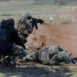 Tir et sauvetage au combat avec les GCP © Valérie Koch - Tous droits réservés