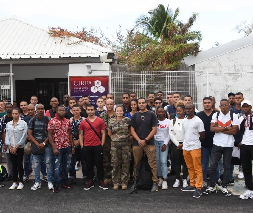 Le CIRFA recrute 43 militaires du rang © ADJ Audrey / FAZSOI