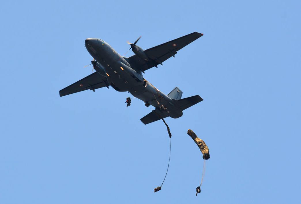 Le 2e REP a sauté sur Mayotte © DLEM
