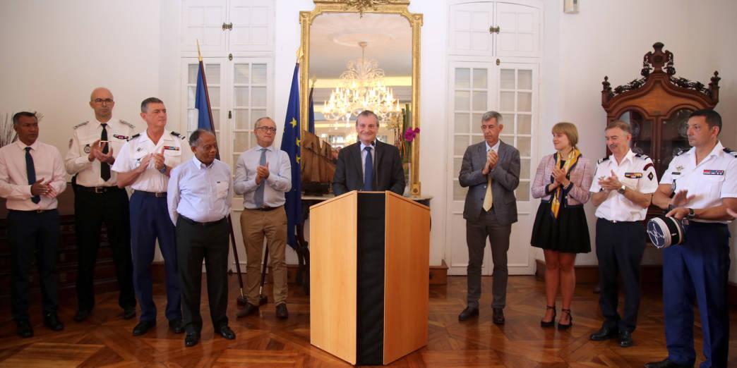 Jacques Billant présente ses vœux © Préfecture de La Réunion