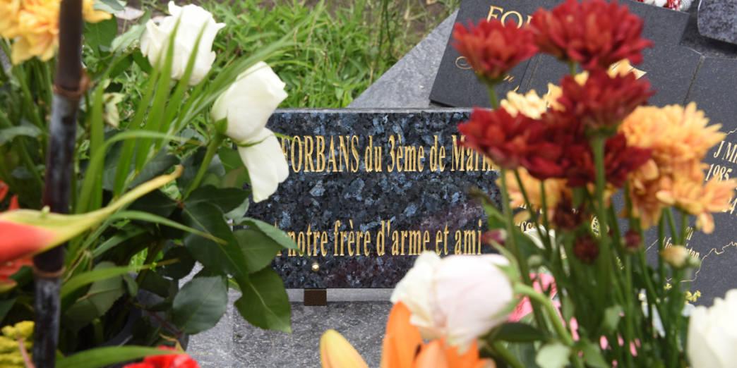 Hommage au CCH Naguin, mort pour la France © ADJ Audrey / FAZSOI