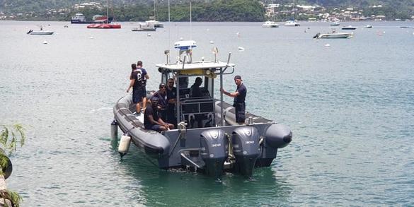 LIC : cinq nouveaux gendarmes et 12 policiers © Préfecture de Mayotte
