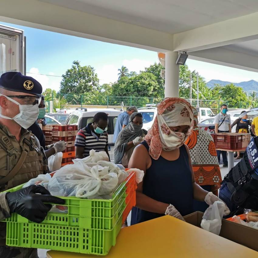 À Mayotte, le DLEM en appui © DLEM