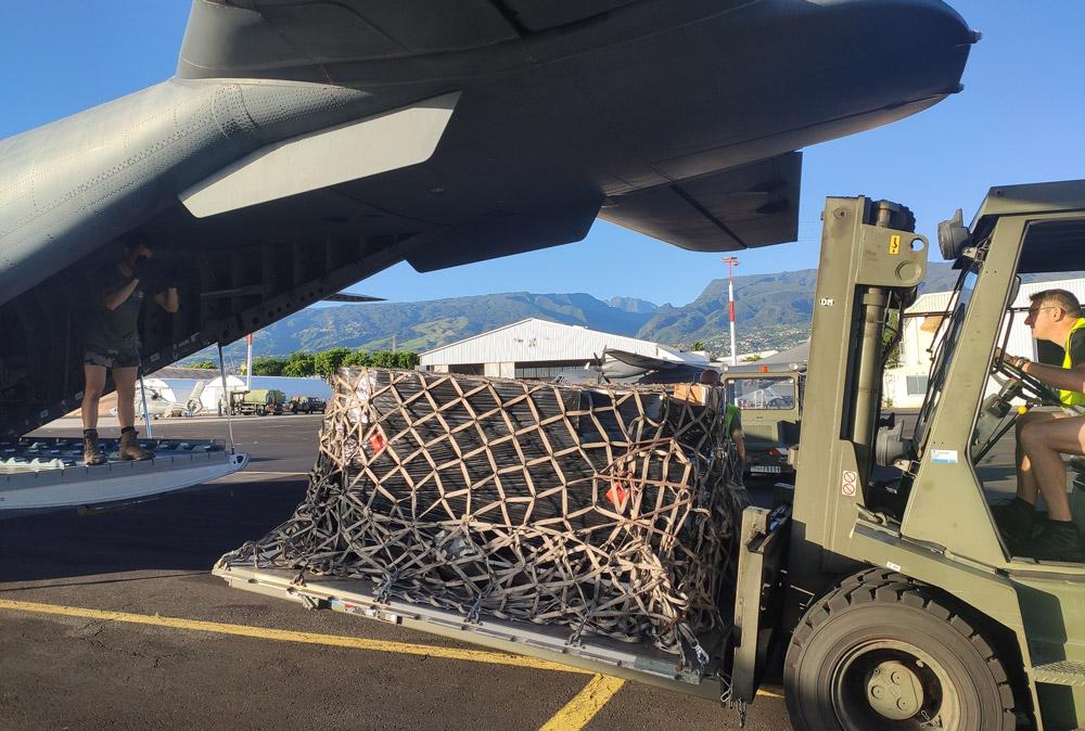 Fret médical pour les Comores, Résilience : le fret est arrivé à Mayotte © DA 181