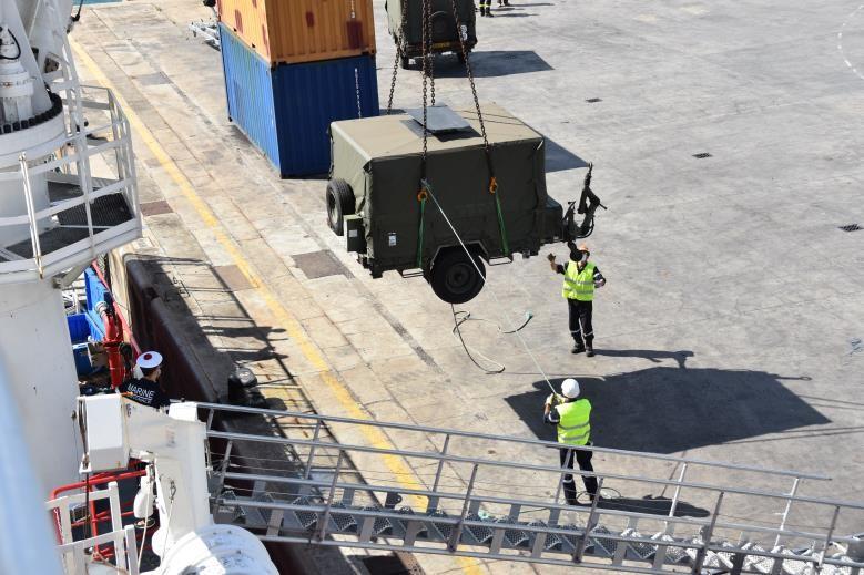 Désengagement progressif des FAZSOI © Marine nationale
