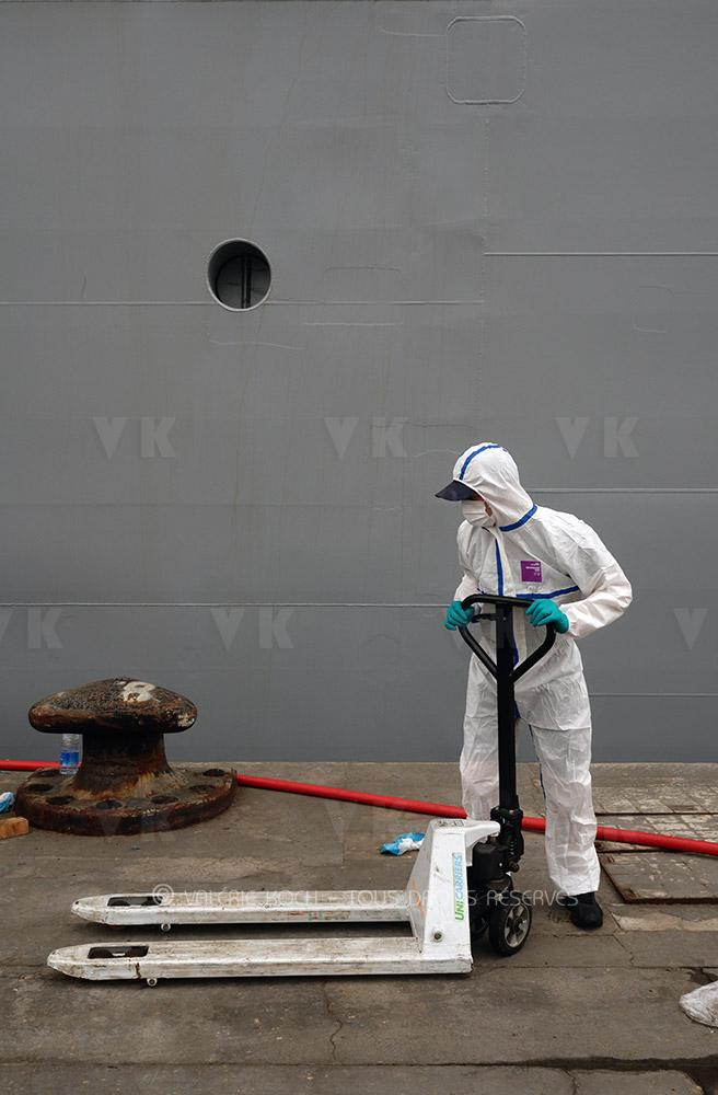 500 tonnes de fret désinfecté pour Mayotte © Valérie Koch - Tous droits réservés