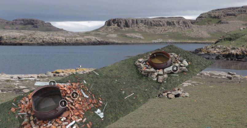 Le fortin et les TAAF sur #Archéorama © TAAF