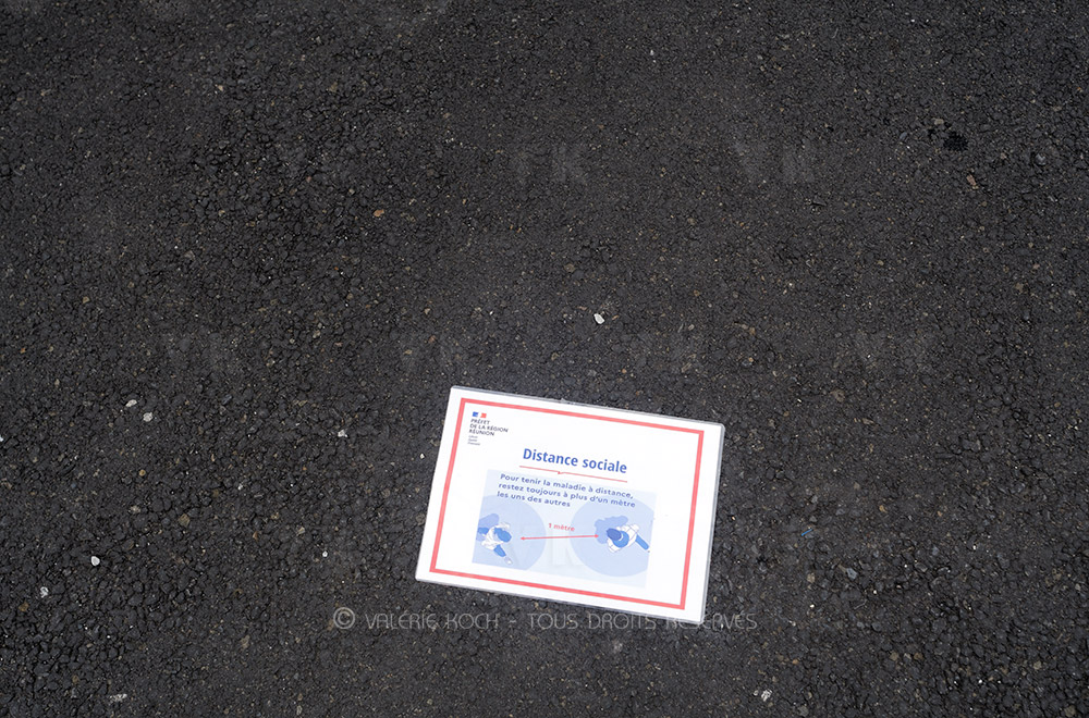 COVID-19 : mesures adaptées à La Réunion © Valérie Koch - Tous droits réservés