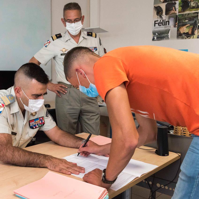Les Réunionnais signent et Denis rempile © ADJ Gwendoline / FAZSOI