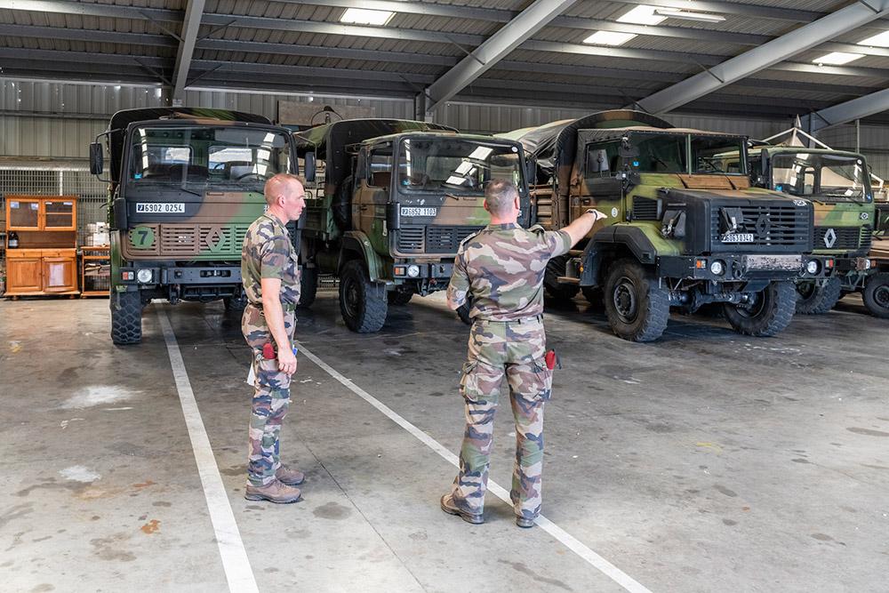 CYCLONEX pour les forces armées © CC1 Jimmy / 2e RPIMa