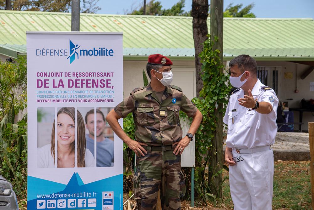 Forum emploi sudiste pour Défense Mobilité © CC1 Nicolas / 2e RPIMa - Tous droits réservés
