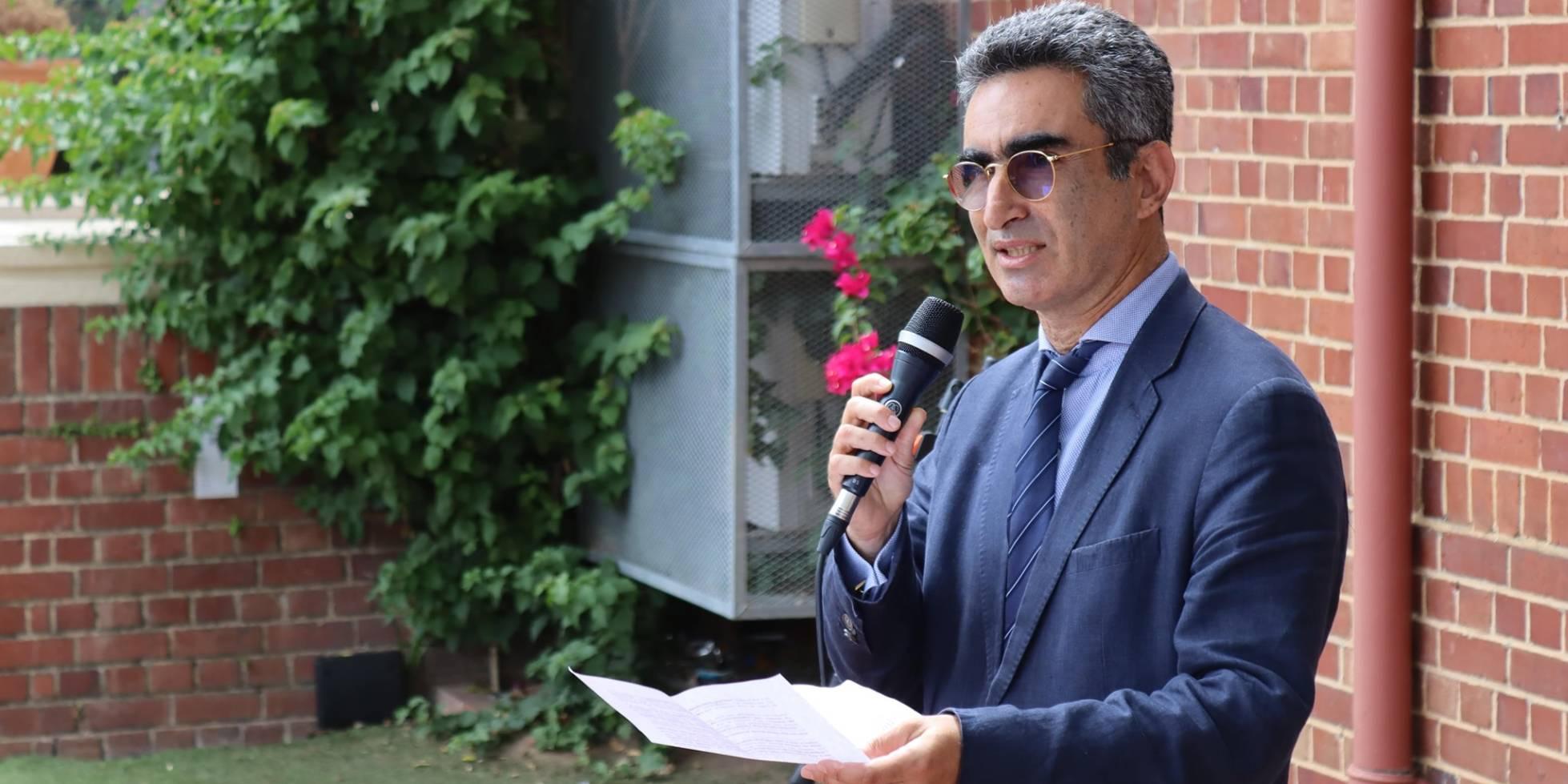 Laurent Amar, nouveau conseiller diplomatique © Consulat Général de France au Cap