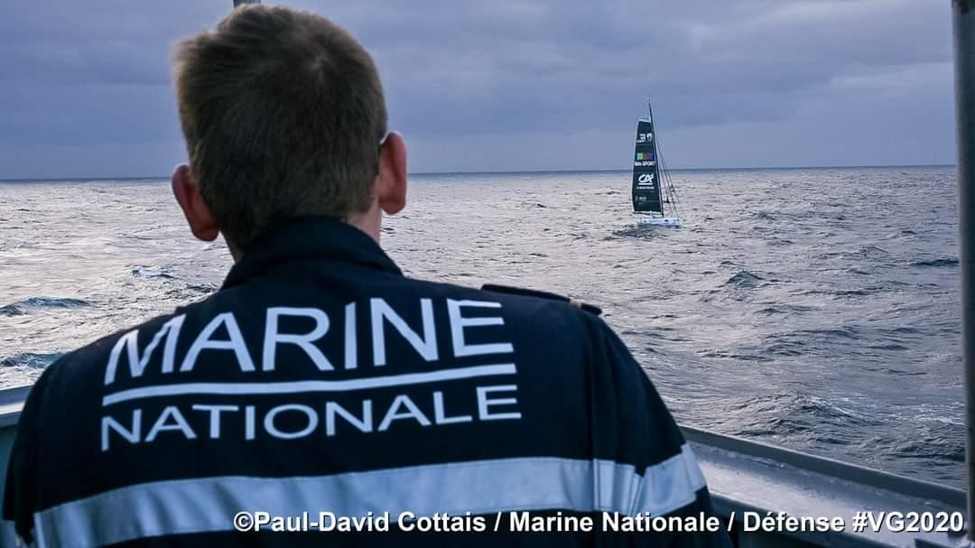 La FS Nivôse récupère Escoffier © Paul-David Cottais / MN