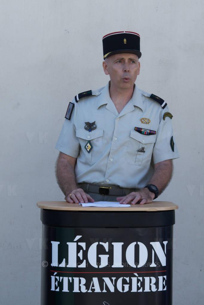 Le recrutement de la Légion étrangère est ouvert © Valérie Koch - Tous droits réservés