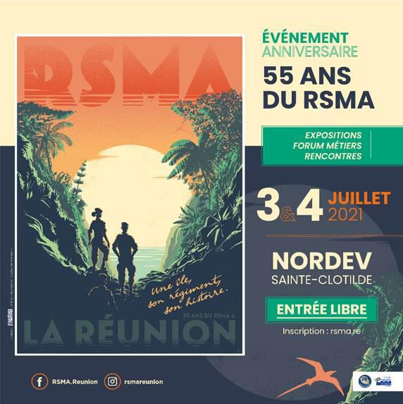 Le RSMA-R fête ses 55 ans autour de ses volontaires © Guillaume Plantevin