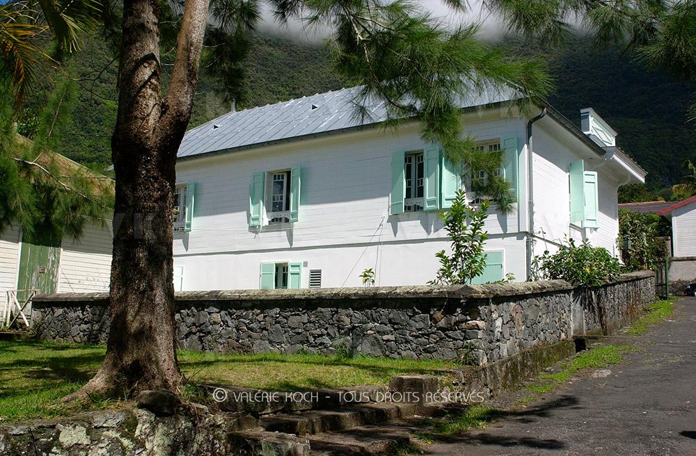 L'ancien hôpital militaire de La Réunion © Valérie Koch (archives 2004) - Tous droits réservés